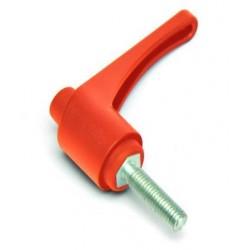 KLH 65 M8x50 Přestavitelná páčka plastová,oranžová