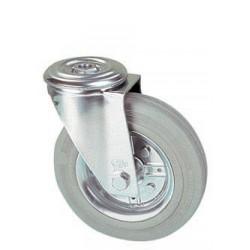 LGB 125/QR  Otočné kolo s šedou obručí s otvorem
