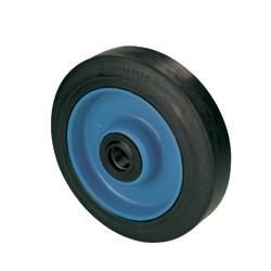 Kolesá s elastickou gumovou obručou